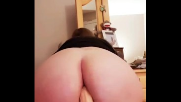 MILF PAWG enjoys fucking both holes. Next time I want real cock-Stacey38G