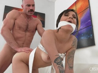 Sexy Step Daughter Sucks And Fucks Her Stepdad to Keep Her Stripping Secret
