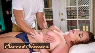 SweetSinner – Married Woman Maddy OReilly Has Her Pussy Pounded By Her Massage Therapist Ramon Noma