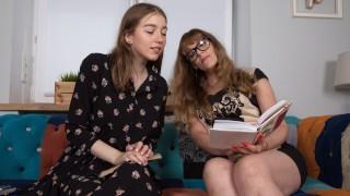 Mature Teacher Seduces Teen Schoolgirl For Pussy & Scissoring