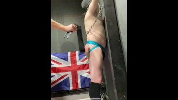 The Cell Inmate 010 – Full Cell session. The Blackpool Playroom, The Cell and The Playroom Gloryhole