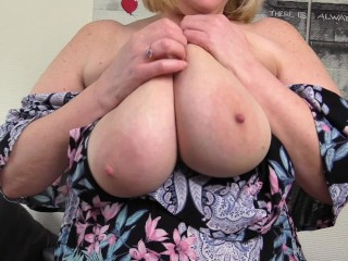 Wouldn't you love to play with they Nasty Step Moms Big Fleshy Tits?