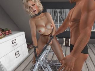 Pantyhose BDSM: Bondage Horse