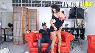 LasFolladoras – Suhaila Hard Big Tits Spanish MILF Fucks Lucky Pizza Delivery Guy – AMATEUREURO