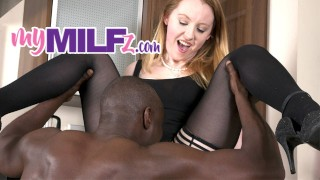 Cheating Wife having her First Juicy BBC for Breakfast