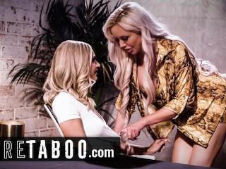 PURE TABOO Emma Hix Seduces Egomaniac MILF Boss Nina Elle