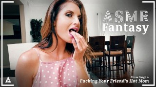 ASMR Fantasy Fucking My Friend's Hot Stepmom Silvia Saige - POV Roleplay