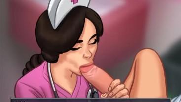Summertime Saga - Cookie Jar - All Sex Scenes Only - Nurse #1 Part 36