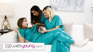 WebYoung Lesbian Medical Students Give Each Other Physical Exams