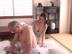 Dirty old man fuck son wife