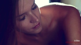 Beautiful Part I Sylvie Deluxe is getting ready for pleasure! Great orgasm to come