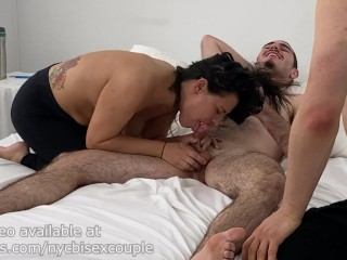 Bisexual/suck mom family in cock