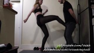 Películas porno - Miss Chaiyles' Ballbusting Shoe Series Episode 7 Trailer Ballbusting