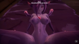 BIG TIT SLIME GIRL GETS FUCKED HARD AND DOMINATED! Monster Girl Island Prologue Part 8