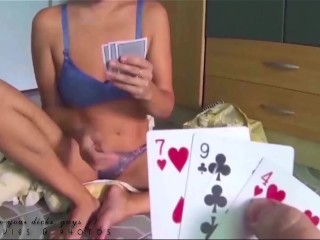 Pussy/gambling and striptease game game