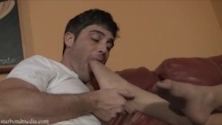 Worship My Feet While I Think About It - Star Nine & Lance Hart Pantyhose Domination TRAILER