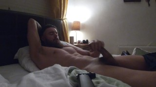 hot guy makes masturbation video for friend and uploads it for fun