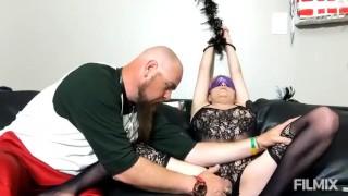 Light BDSM for MILF Orgasm by hands