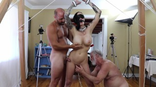 Brooke Lyn DSC65 Edge Play Bondage Anal Oral Fingering Doggystyle Squirting Creampie