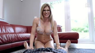 My Step Mom Grinds on My Cock and Dares Me Not to Get Hard – Cory Chase