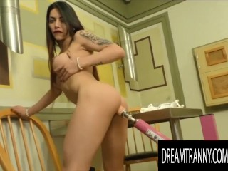Dream Tranny – Desirous Shemales Receive Automated Pleasure Compilation