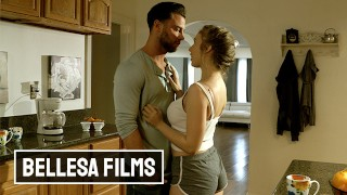 Bellesa – Hot Babe Lena Paul Didnt Cum For A Month And Seth Gamble To The Rescue