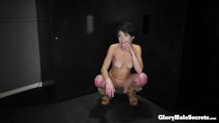 Porno xxx - Tiny Little Spinners 1St Porno Ever In A Gloryhole