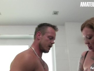 ReifeSwinger – Tattooed Polish Newbie Hot Shower Fuck With Big Dick Stud – AMATEUREURO