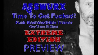Fuck Machine Dildo Trainer Preview Time To get Fucked Extreme Edtion