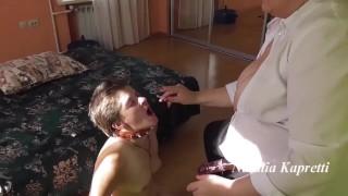 Lesbian Sex Slave Threesome