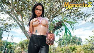 CarneDelMercado – Mila Garcia Big Tits Latina Colombiana First Audition Fuck – MAMACITAZ