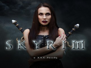 Fuck Devilish Horny Vampire Nicole Love in SKYRIM A XXX PARODY