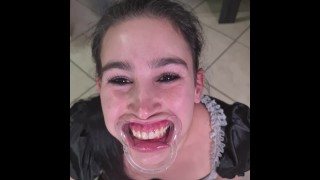 Full Length Porn Movie - French Maid Tries To Drink Her Own Piss Through Lip Retractor Funny Fail
