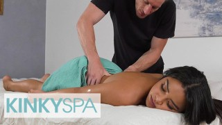 Kinky Spa – Sexy Maya Bijou Visits A Massage Parlor And Gets A Special Sexual Treatment