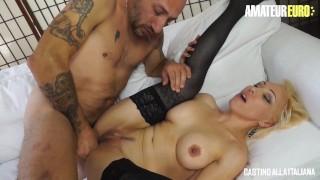 CastingAllaItaliana – Big Tits Italian Blonde Ass Fucked At Porn Audition – AmateurEuro