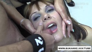 Michelle's First Big Cum Flood Swallow