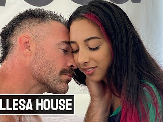 Bellesa – Hot Babe Kiarra Kai Gets Picked By Charles Dera And He Cums Inside Her Pussy