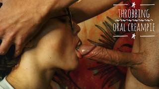 Film porno - Mary Konopelka Крупным Планом Минет Его Пульсирующий Член Кончает Полный Рот