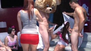DANCING BEAR – Lascivious Ladies With Loose Morals Sucking & Fucking During CFNM Parties!