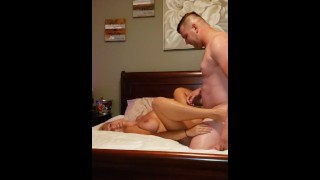 Hotwife Milf Fucks young STUD and Squirts Everywhere!