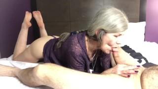 Soles Up Hot Cougar Granny Deep Throat Fuck Cock Worship Ahegao