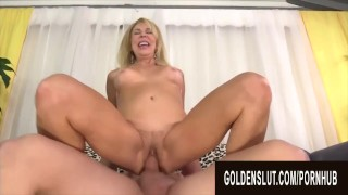 Golden Slut – Horny GILFs Mounting Dicks in Reverse Cowgirl Compilation