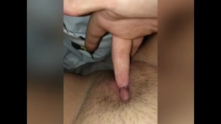 Lonely Teen Plays With Hairy Pussy Teaser