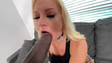 sucking the biggest cock ever part 1