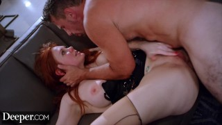 Deeper Maitland Ward's First Anal EXCLUSIVE