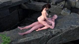 Полная длина порно фильм - Лара Крофт Выебана Поверх Яматая ■ Tomb Raider Blender Sfm Porn С