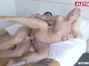 BitchesAbroad - Big Tits Argentinian Blondie Fesser Fucked Hard In Her Trip To Spain - LETSDOEIT