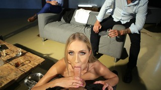 POV video of Angelika Grays getting shared at a bachelor party