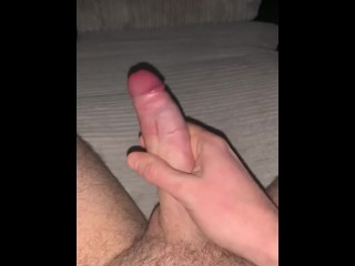 Young Big Dick Explodes