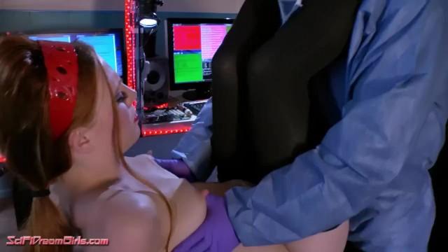 Lesbian Robot Sexy Girl SciFi